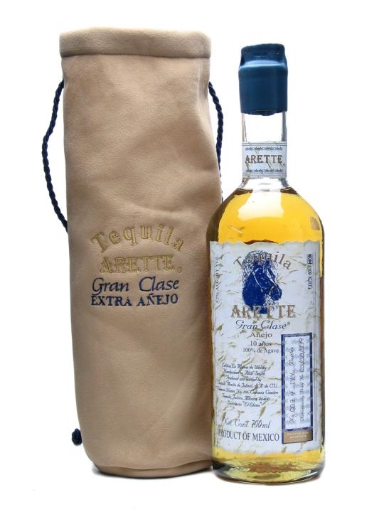 Arette Gran Clase Extra Anejo Tequila / 10 Year Old