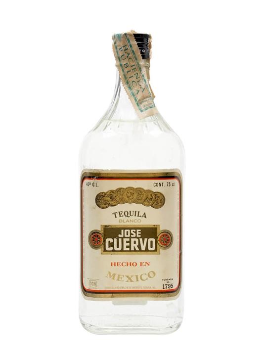 Jose Cuervo Tequila Blanco / Bot.1960s