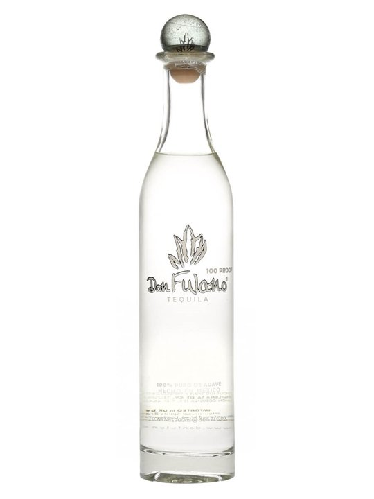 Don Fulano Fuerte Silver Overproof Tequila