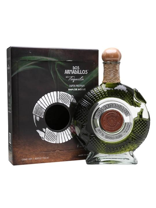 Dos Armadillos Plata Tequila