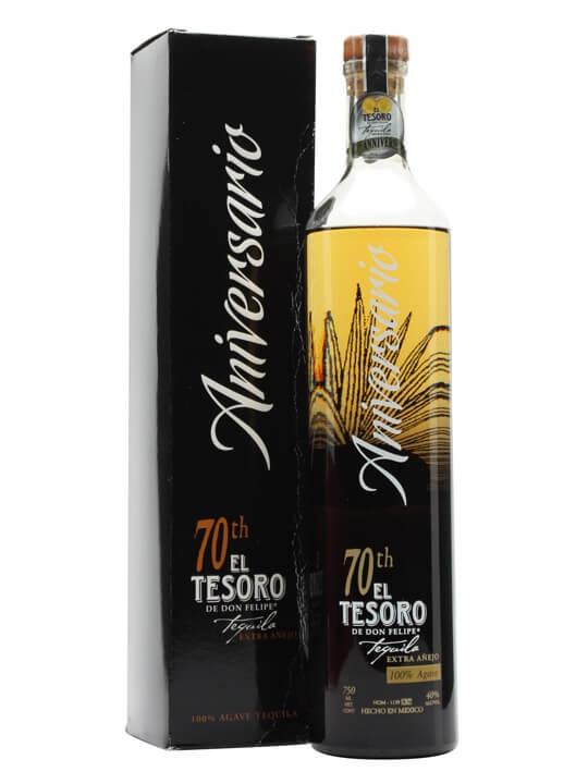 El Tesoro 70th Anniversario Tequila