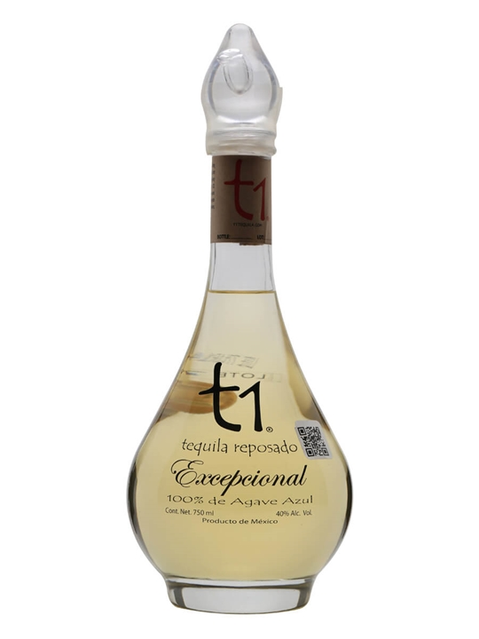T1 Tequila Uno Reposado Exceptional Tequila
