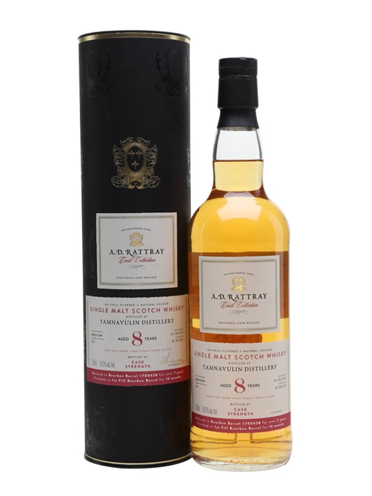 Tamnavulin 2009 / 8 Year Old / A D Rattray Cask Collection Speyside Whisky