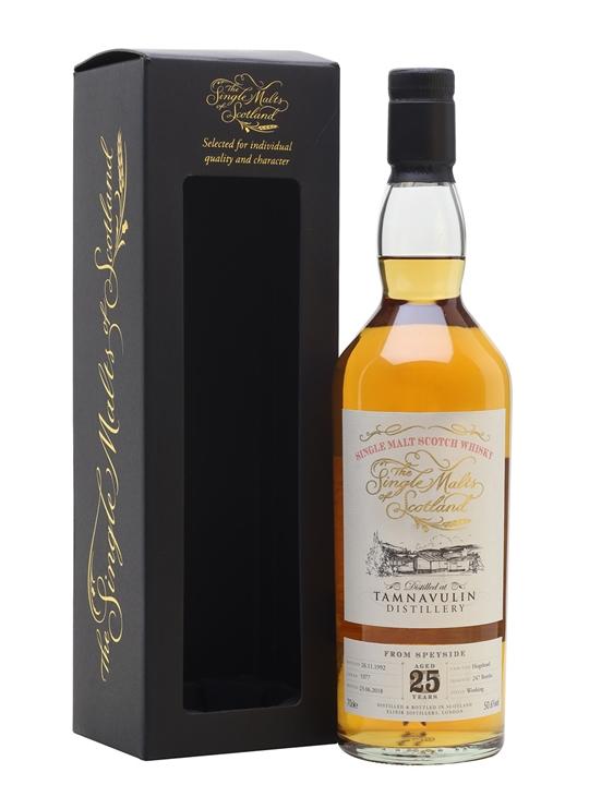 Tamnavulin 1992 / 25 Year Old / Single Malts Of Scotland Speyside Whisky