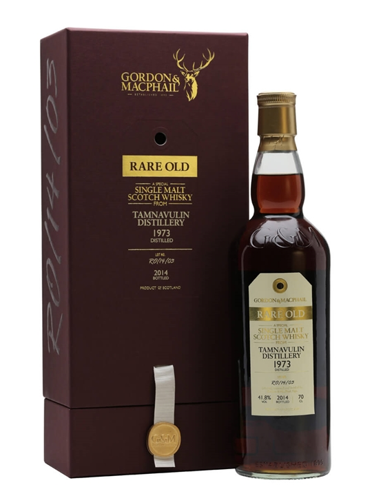 Tamnavulin 1973 / 40 Year Old / Rare Old / Gordon & MacPhail Speyside Whisky
