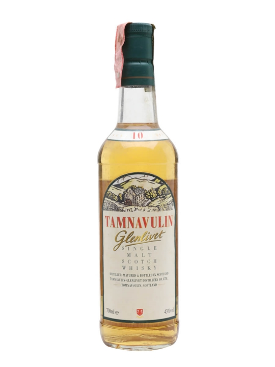 Tamnavulin-glenlivet 10 Year Old Speyside Single Malt Scotch Whisky