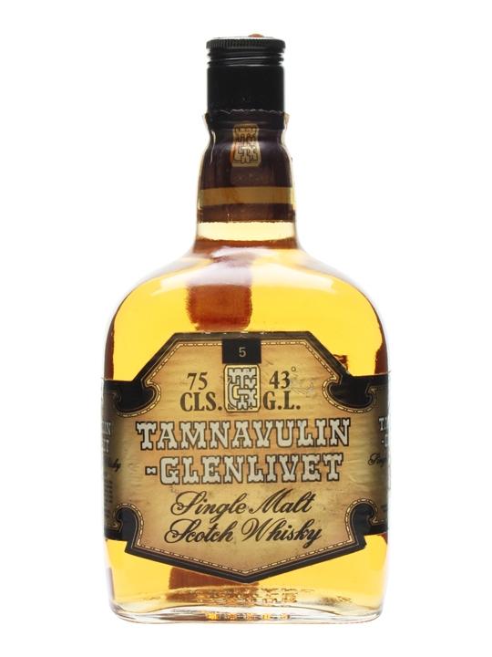 Tamnavulin-glenlivet / Bot.1980s Speyside Single Malt Scotch Whisky