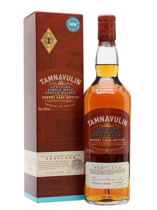 Tamnavulin Sherry Edition Speyside Single Malt Scotch Whisky