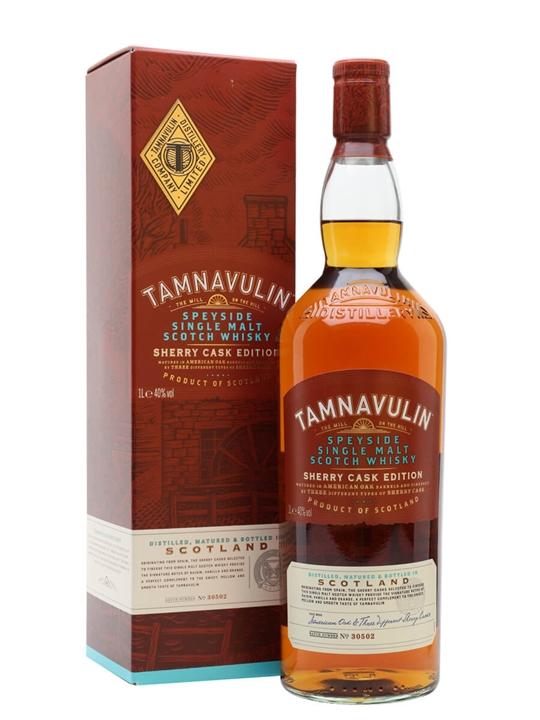 Tamnavulin Sherry Edition / Litre Speyside Single Malt Scotch Whisky