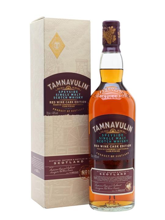 Tamnavulin French Cabernet Sauvignon Cask Speyside Whisky