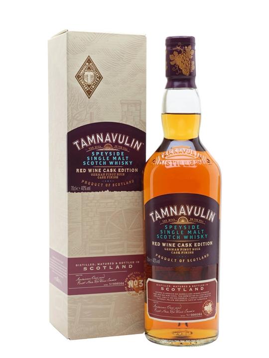 Tamnavulin German Pinot Noir Cask Speyside Single Malt Scotch Whisky
