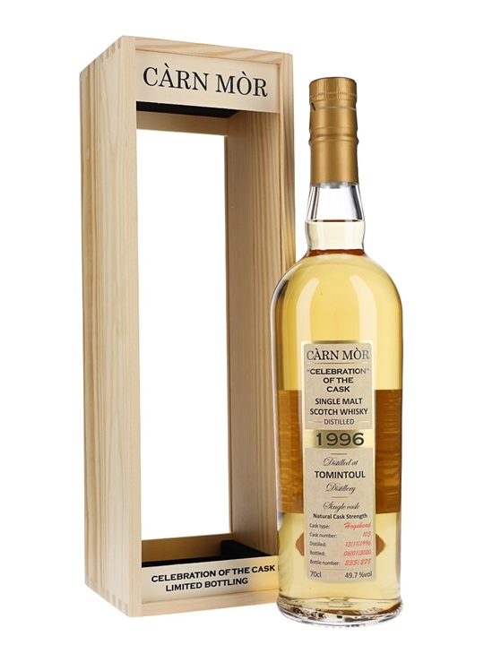 Tomintoul 1996 / 23 Year Old / Carn Mor Speyside Whisky