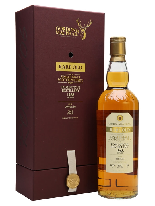 Tomintoul 1968 / 43 Year Old / Rare Old / Gordon & MacPhail Speyside Whisky