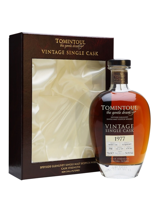 Tomintoul 1977 / 38 Year Old / Sherry Cask Speyside Whisky