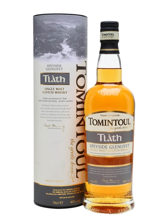 Tomintoul Tlath Speyside Single Malt Scotch Whisky
