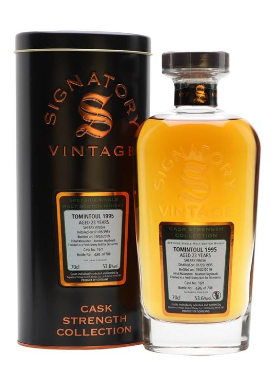 Tomintoul 1995 / 23 Year Old / Signatory Speyside Whisky