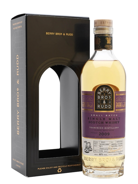 Teaninich 2009 Small Batch / 12 Year Old / Berry Bros & Rudd Highland Whisky
