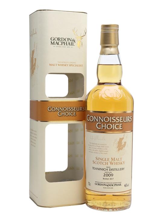Teaninich 2009 / Bot.2017 / Connoisseurs Choice Highland Whisky