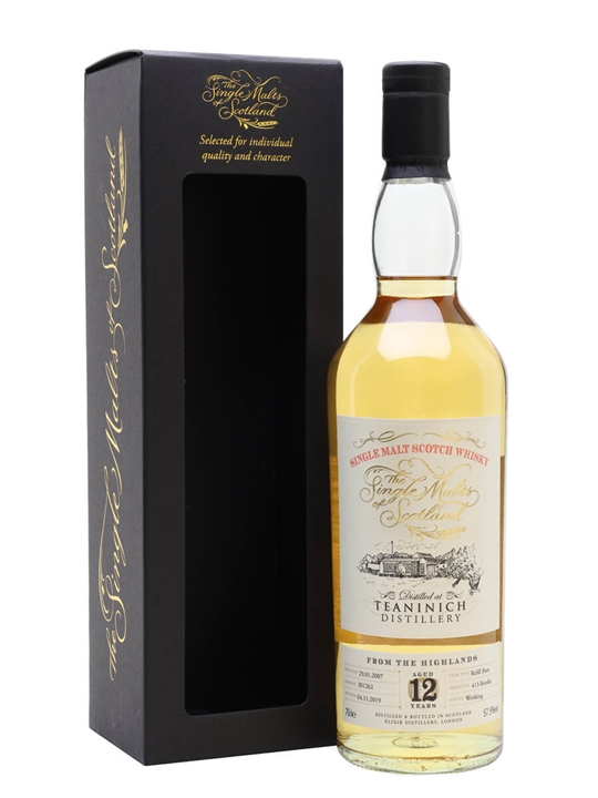 Teaninich 2007 / 12 Year Old / Single Malts of Scotland Highland Whisky