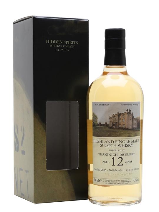 Teaninich 2006 / 12 Year Old / Hidden Spirits Highland Whisky