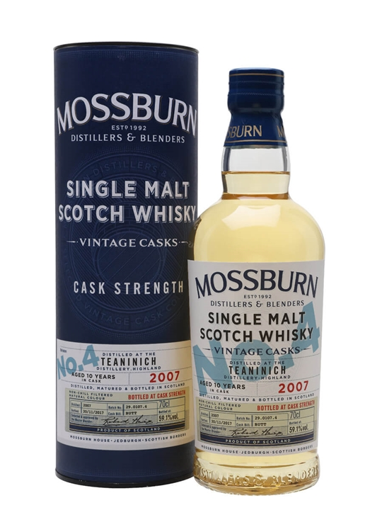 Teaninich 2007 / 10 Year Old / Vintage Casks #4 / Mossburn Highland Whisky