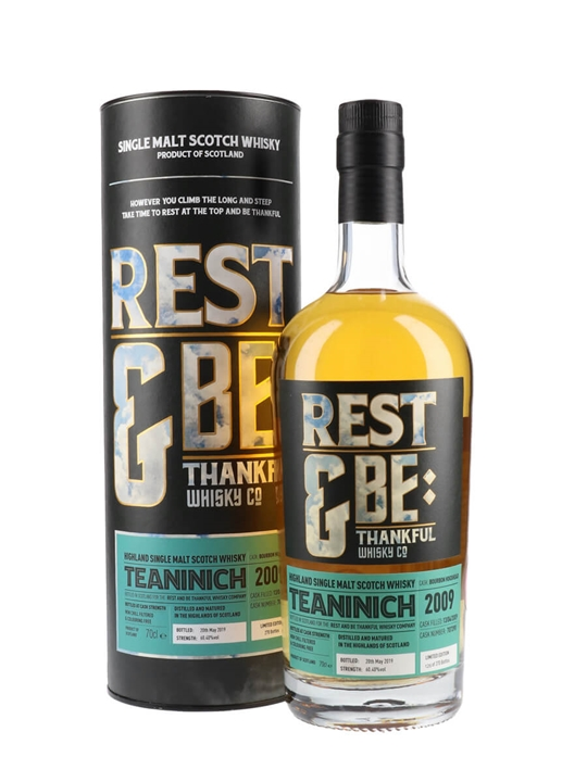 Teaninich 2009 / Bot.2019 / Rest & Be Thankful Highland Whisky
