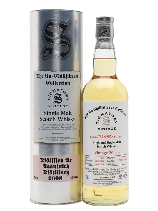 Teaninich 2008 / 11 Year Old / Signatory Highland Whisky