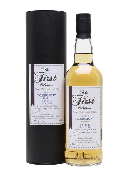 Tobermory 1996 / 18 Year Old / First Editions Island Whisky