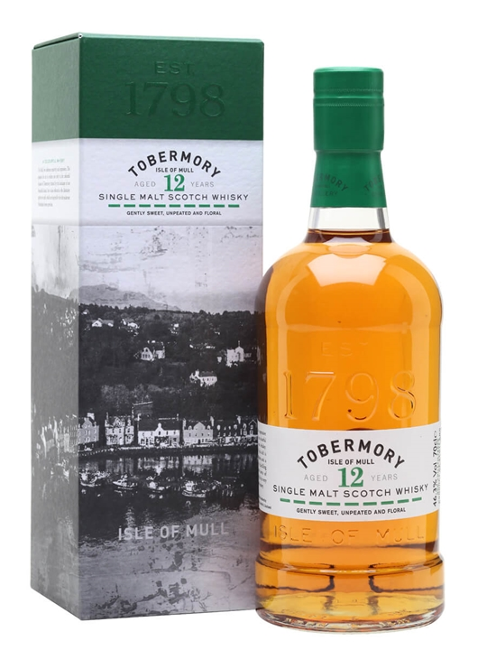 Tobermory 12 Year Old Island Single Malt Scotch Whisky