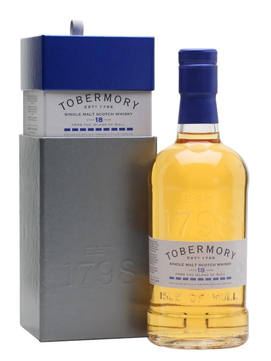 Tobermory 18 Year Old Island Single Malt Scotch Whisky