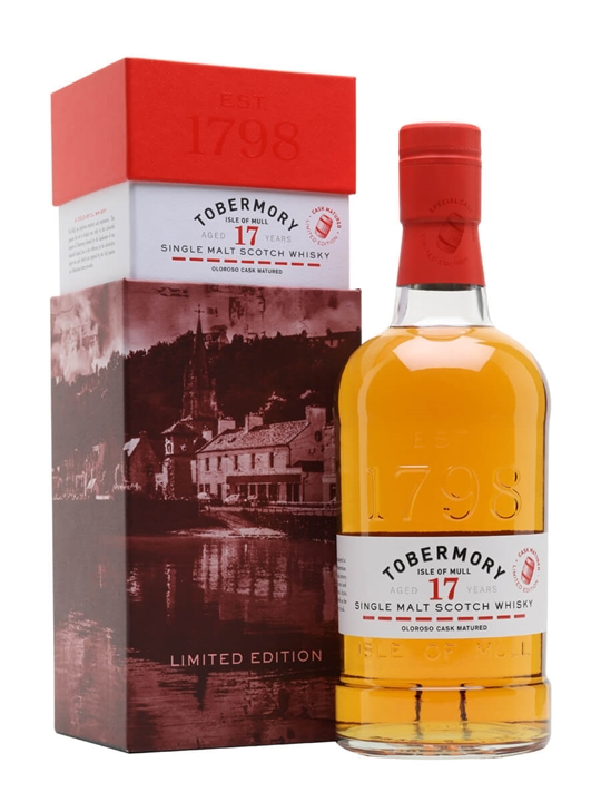Tobermory 2004 Oloroso Cask / 17 Year Old Island Whisky