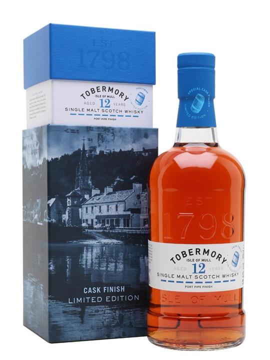 Tobermory 2007 / 12 Year Old / Port Finish Island Whisky