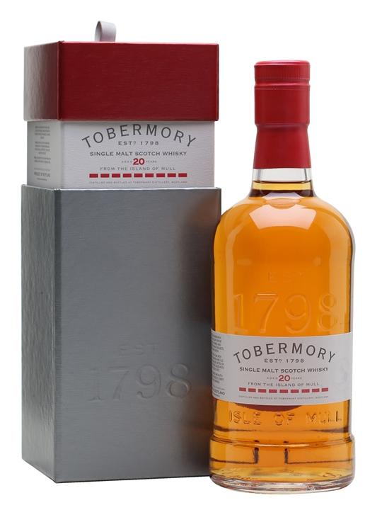 Tobermory 20 Year Old / Sherry Cask Island Single Malt Scotch Whisky