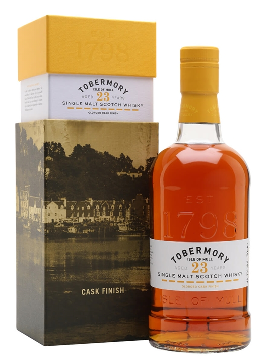 Tobermory 1996 / 23 Year Old / Sherry Finish Island Whisky