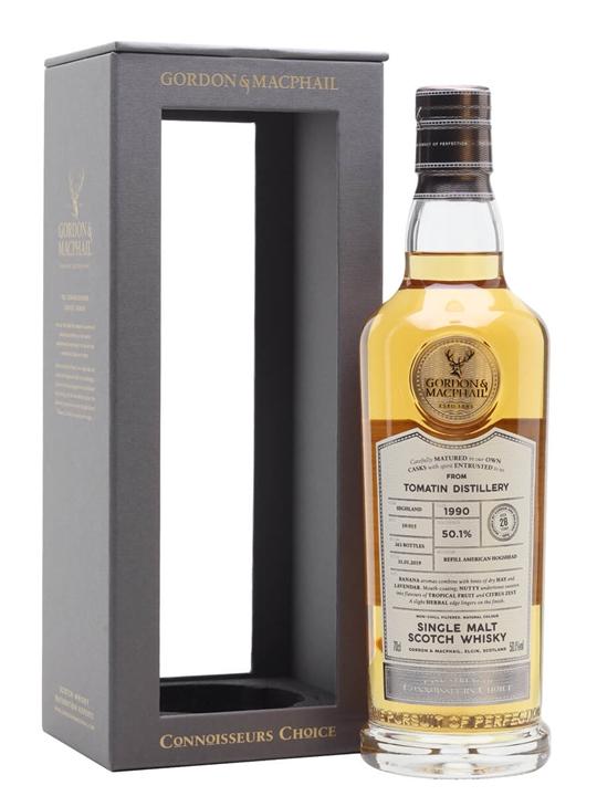 Tomatin 1990 / 28 Year Old / Connoisseurs Choice Highland Whisky