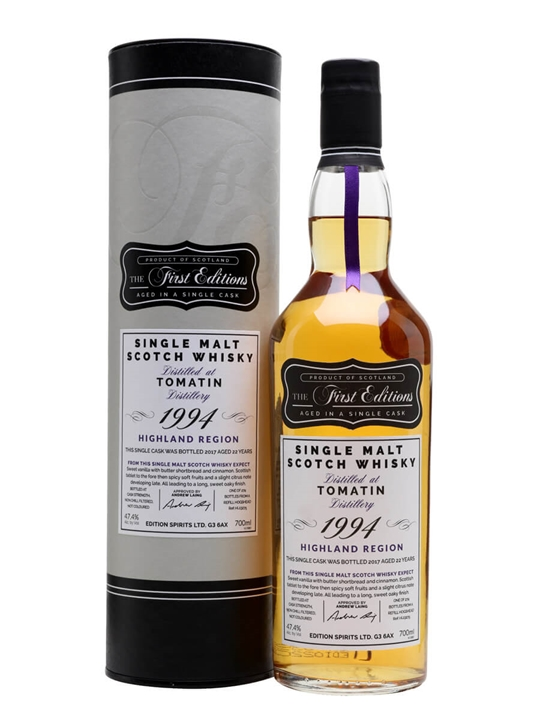 Tomatin 1994 / 22 Year Old / First Editions Highland Whisky