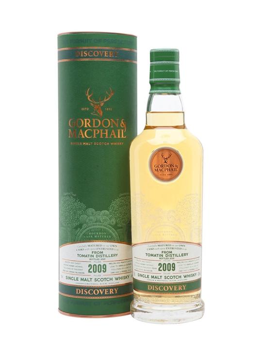 Tomatin Discovery 2009 / Gordon & Macphail Highland Whisky