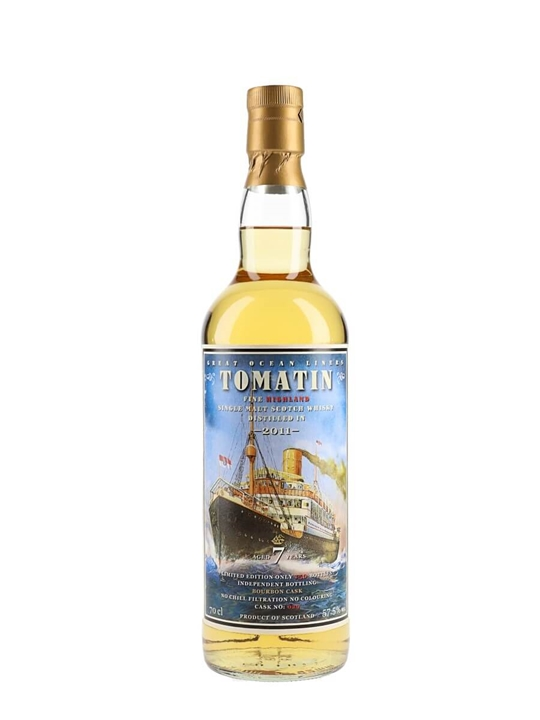 Tomatin 2011 / 7 Year Old /  Jack Wiebers Messe Limburg 2019 Highland Whisky