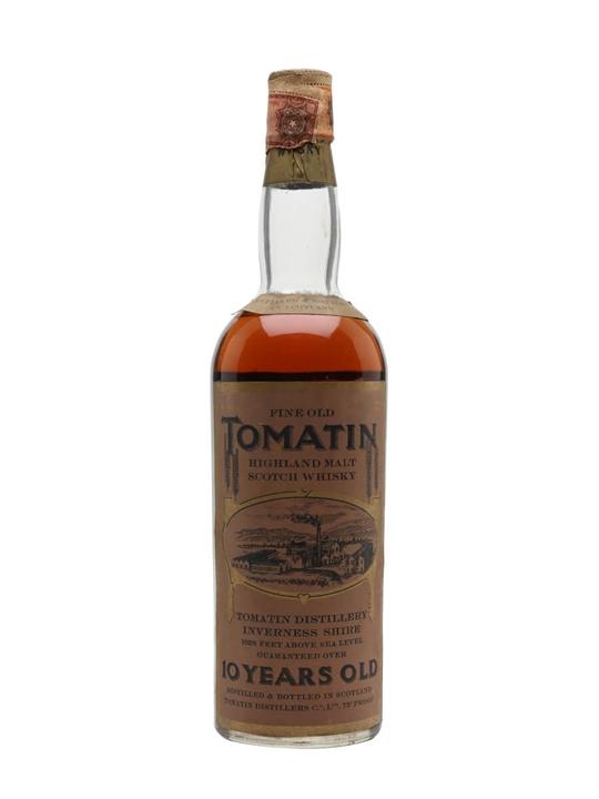 Tomatin 10 Year Old / Bot.1960s Highland Single Malt Scotch Whisky