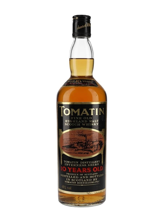 Tomatin 10 Year Old / Bot.1970s Highland Single Malt Scotch Whisky