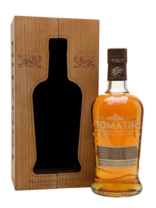 Tomatin 1988 / Batch No.3 Highland Single Malt Scotch Whisky