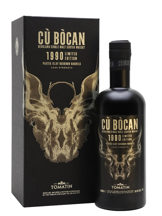 Cu Bocan 1990 Highland Single Malt Scotch Whisky