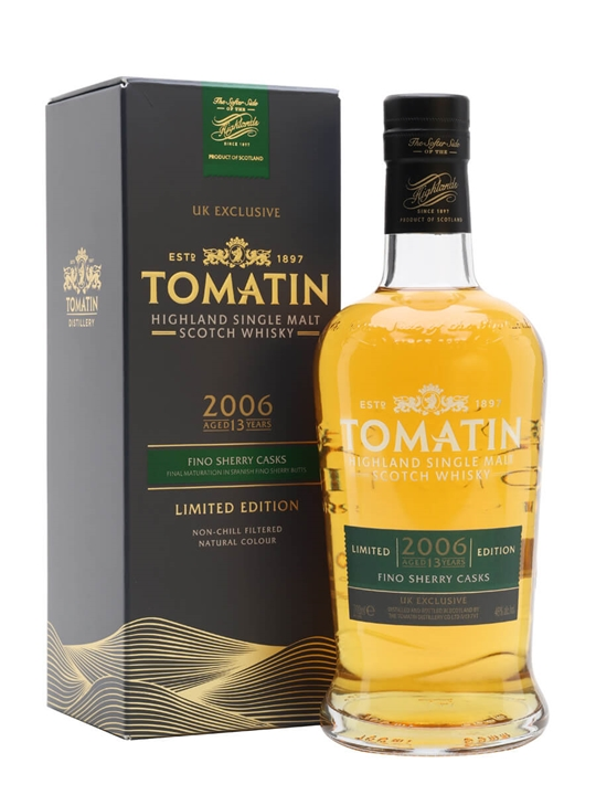 Tomatin 2006 / 13 Year Old / Fino Sherry Cask Highland Whisky