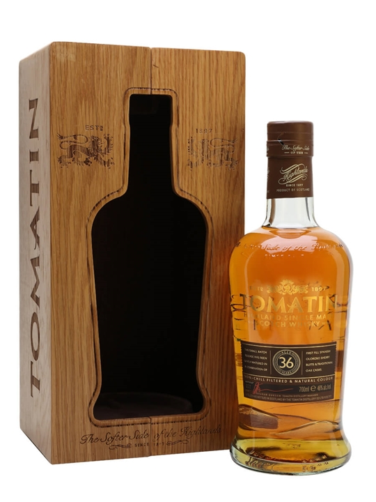 Tomatin 36 Year Old / Batch No.2 / Rare Casks Highland Whisky