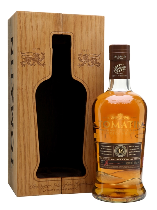 Tomatin 36 Year Old / Batch No.3 / Rare Casks Highland Whisky