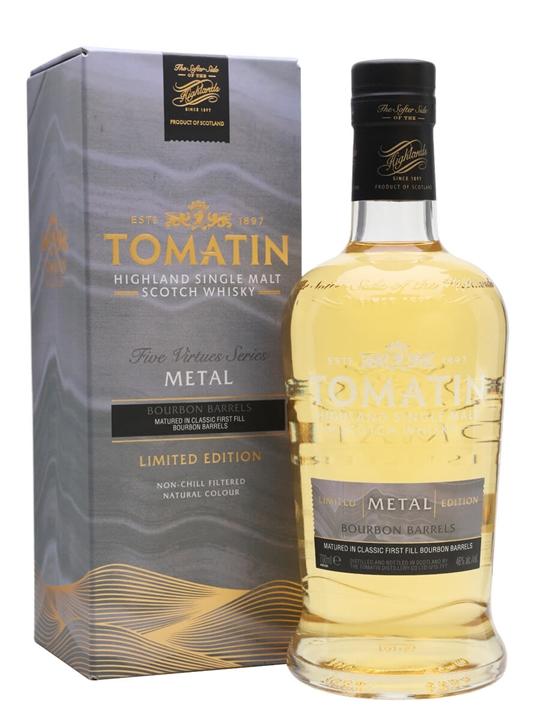 Tomatin Metal Highland Single Malt Scotch Whisky