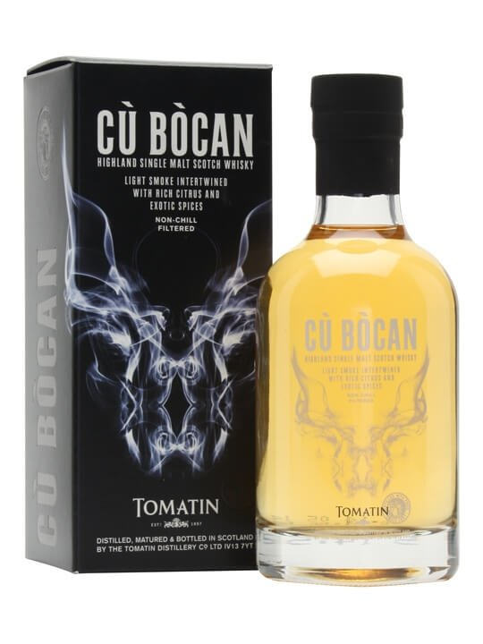Tomatin Cu Bocan / Small Bottle Highland Single Malt Scotch Whisky