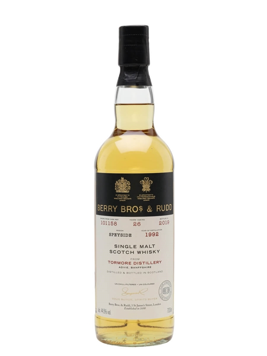 Tormore 1992 / 26 Year Old / Berry Bros & Rudd Speyside Whisky