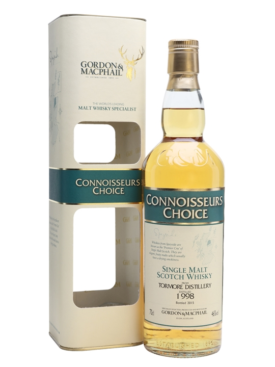 Tormore 1998 / Bot.2015 / Connoissuers Choice Speyside Whisky