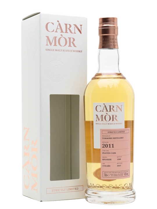 Tormore 2011 / 9 Year Old / Peated Cask / Carn Mor Strictly Limited Speyside Whisky